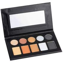 Style Essentials Women's Cosmetics METAL & MATTE Eyeshadow Collection - 10 Color Palette
