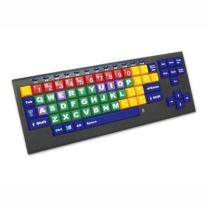 KinderBoard Keyboard - English (US) Keyboard with Wired USB Connection