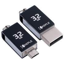 64GB USB Stick OTG to Micro USB 2 in 1 Pen Flash Drive Memory Stick 2.0 Compatible with MeMo Pad 7, Pad HD 7, Pad 8, Pad 10, ZenPad 7, 8, S 8.0 Z580C / Z380C, 10 Z300M | 64 GB Thumb Drive Dual Port