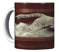 WILD COTTON Cheetah 11 Ounce Ceramic Coffee Mug (WC268M)