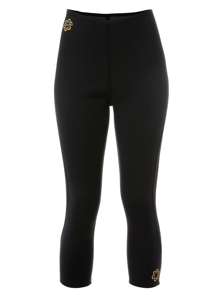 Zaggora Hot Pants Capri - Black - The Original Hot Pants Leggings