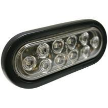 "Blazer C562CRTM 6"" LED Oval Stop/Tail/Turn Light, Red"