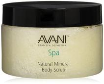 AVANI Classics Natural Mineral Body Scrub | Enriched with Dead Sea Minerals, Jojoba Oil, and Vitamin E | Gently Exfoliates and Moisturizes Skin| Citrus and Vanilla - 14.08 oz.