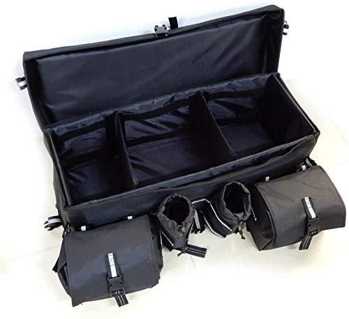 Waterproof ATV Storage Bag, Kemimoto Updated ATV Cargo Gear Bag with Water Bottle Holder Gun Holder
