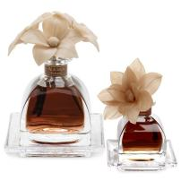 AGRARIA Balsam AirEssence & PetiteEssence Diffuser Duo, 7.4 Ounces & 1.7 Ounces with Reeds and Flowers, Set of 2 Diffusers