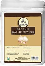Naturevibe Botanicals USDA Organic Garlic Ground Powder 1lb   Raw, Gluten-Free & Non-GMO   Healthy Spice   Adds Flavor and Taste [Packaging May Vary]