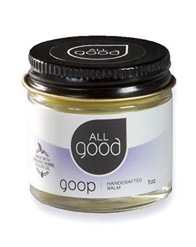 All Good Goop - Organic Skin Relief Balm & Ointment w/Calendula for Dry Skin, Scars, Eczema, Diaper Rash, Bug Bites, Burns, Chapped Lips - Safe for Baby & Sensitive Skin (1 oz)