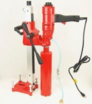 """BLUEROCK Tools 4"""" Concrete Core Drill Model 4"""" Z-1WS Coring Drill"""