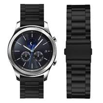 Fullmosa Compatible HuaweiWatch, Samsung Gear S2 Classic Gear S3 Classic/Frontier Smart Watch Band 18mm 20mm 22mm