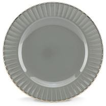 Marchesa Shades of Grey Party Plate by Lenox