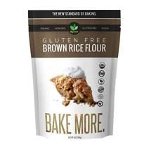 Big Green Organic Food- Organic Brown Rice Flour, Gluten-Free, Kosher, Artisan Baking (1)