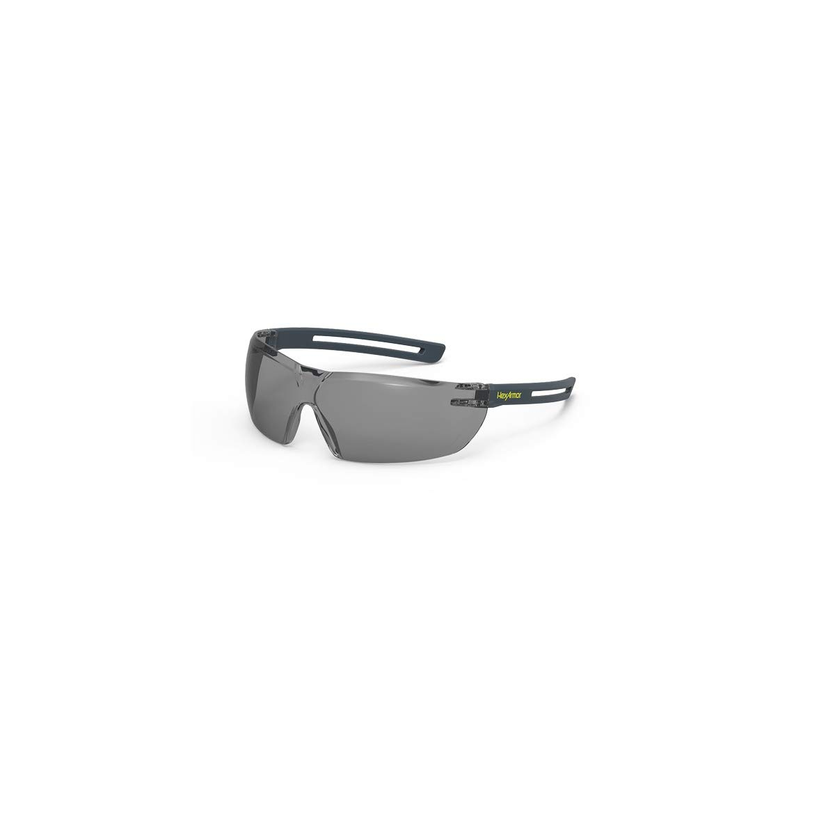 HexArmor LT400 z87 Lightweight Grey Tint Anti Fog Safety Glasses