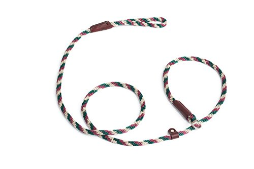 Rover on Main Slip Lead Dog Leash for Training by Cesar Milan Six Feet Multiple Colors Made in The USA