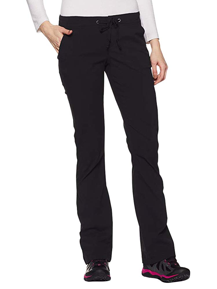 Women's Anytime Outdoor Boot Cut Pant, Water and Stain Repellent,Hiking,Travel,campling 2063,Black,32