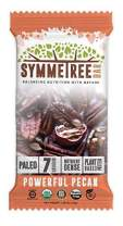 SYMMETREE Nut Bars - 100% Organic, Dairy, Gluten, and Soy Free - Paleo Friendly, Plant Based, Refrigerated Bar, Stone Ground Nut Butter with Only 7 Raw Ingredients - 12.6oz, 8 Count (Powerful Pecan)