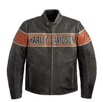Harley-Davidson Men'S Victory Lane Leather Jacket