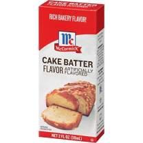 McCormick Imitation Cake Batter Flavor, 2 fl oz (Pack - 1)