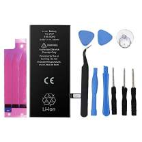 2900mAh Battery for iPhone 7 Plus 7plus Replacement with Complete Repair Tools Kit and Battery Sticker [Not for iPhone 7]