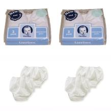 Gerber Plastic Pants, 0-3 Months, Fits Up to 12 lbs (4 pairs)