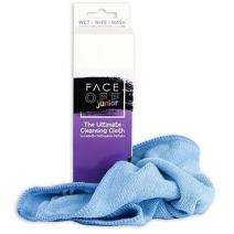 New! FACE OFF Jr. Cloth - Natural, Reusable, Portable Chemical Free Cleansing Cloth to use with Just Water