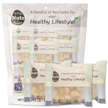 """""""Just Macadamias"""" (Raw)/Family Pack/Unsalted/On-the-Go, Natural, Premium Nuts, Gourmet Food, Multi-Pack, Nut Packs, Macadamia (KOSHER CERTIFIED) (32 PACKS (1 OZ each))"""