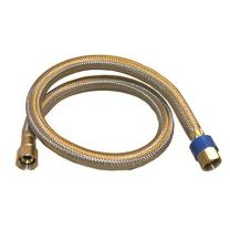 LASCO 10-0960 24-Inch Dishwasher Water Supply Line, Braided Stainless Steel, X 3/8-Inch Femal Compression, 1-Pack