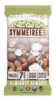 SYMMETREE Nut Bars - 100% Organic, Dairy, Gluten, and Soy Free - Paleo Friendly, Plant Based, Refrigerated Bar, Stone Ground Nut Butter with Only 7 Raw Ingredients - 12.6oz, 8 Count (Almighty Almond)