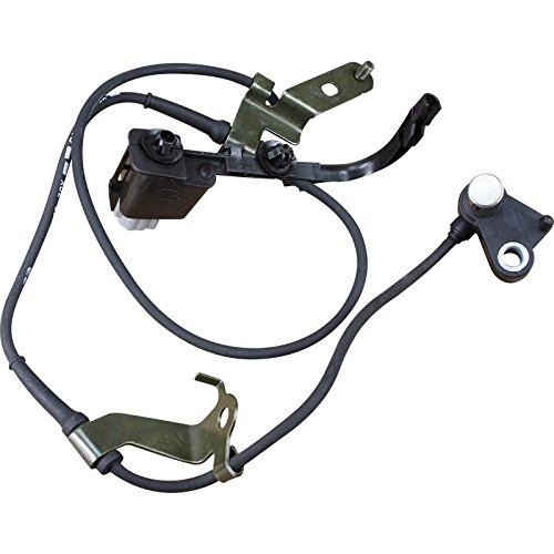 AIP Electronics ABS Anti-Lock Brake Wheel Speed Sensor Compatible Replacement For 2003-2008 Mazda 6 Front Right Passenger Oem Fit ABS315