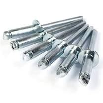 """Pop Rivets 1/8 Diameter #4 All Steel Blind Rivets 4-3, 1/8"""" x 3/16"""" Grip (0.126-0.187) QTY 1,000"""