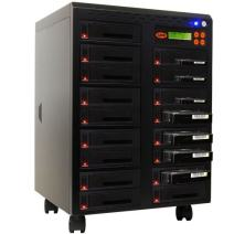 """Systor 1 to 16 SATA 150MB/s HDD SSD Duplicator/Sanitizer - 3.5"""" & 2.5"""" Hard Disk Drive Solid State Drive Dual Port Hot Swap (SYS2016HS-DP)"""