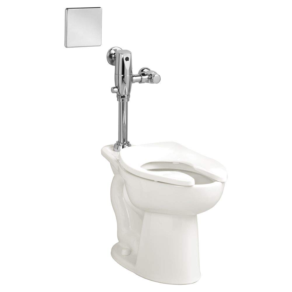 American Standard 3461001.020 Madera 15-In Elongated Toilet Bowl with Slotted Rim, 1.5 in, WHITE