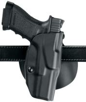 Safariland 6378, ALS Concealment Paddle and Belt Loop Combo Holster, Fits: S&W M&P 9mm.40 & M&P 2.0 .40, Black - STX Plain, Left Hand