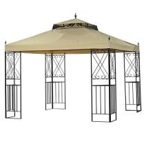 Garden Winds Replacement Canopy Top Cover for The Classic Scroll 10' x 12' Gazebo - 350