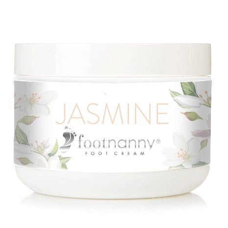 Footnanny - Jasmine Foot Cream - Soothes Cracked Heels and Dead Skin with an Old Fashion, Invigorating Formula