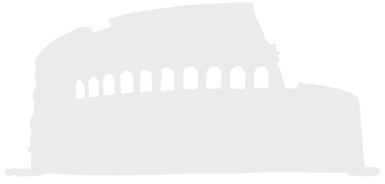 hBARSCI Colosseum Vinyl Decal - 5 Inches - for Cars, Trucks, Windows, Laptops, Tablets, Outdoor-Grade 2.5mil Thick Vinyl - White
