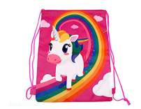 Adorox Set of 12 (16 x 12 inch) Unicorn Drawstring Backpack Party Supplies Party Favor Birthday School