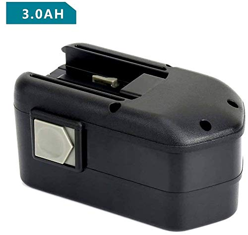REEXBON 18 Volt 3.0Ah / 3000mAh Replacement NiMh Battery for Milwaukee 48-11-2230 48-11-2200 48-11-2232 Chicago Pneumatic 8940158631
