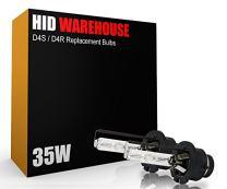 HID-Warehouse AC HID OE Xenon Replacement Bulbs - D4S / D4R / D4C - 10000K Dark Blue (1 Pair) (Metal Bracket)