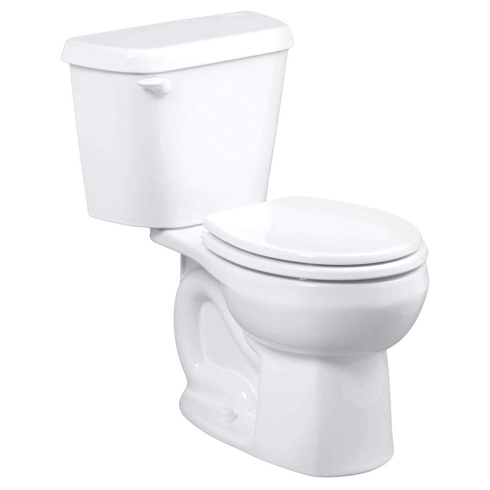 American Standard 221DA104.020 Colony 1.28 GPF 2-Piece Round Front Toilet with 12-In Rough-In, White