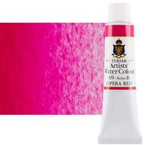 Turner Concentrated Professional Artists' Watercolor Paint 15ml Tube - Opera Red