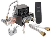 SkyTech AF-LMF/R Remote Controlled Fireplace Gas Valve Control Kit