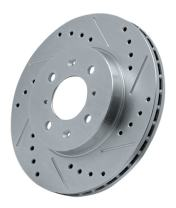 Power Stop EBR467XR Cross Drilled and Slotted Performance Brake Rotor - Right