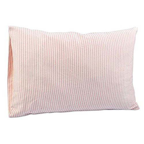 DorDor & GorGor Organic Toddler Pillowcase, Envelope Enclosure, 100% Cotton (Pink)