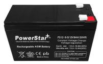 PowerStar Replacement 12V 9AH for EnerSys GENESIS NP7-12T Upgraded High Rate Battery