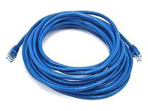 iMBAPrice Blue 25 Feet CAT5e RJ45 Patch Ethernet Network Cable for PC, Mac, Laptop, PS2, PS3, Xbox, and Xbox 360