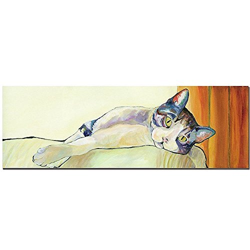 Sunbather by Pat Saunders-White, 10x32-Inch Canvas Wall Art