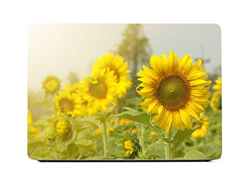 Lapac MacBook Pro 13 Case Sunflower, Floral Hard Shell Case for Model A1502/A1425 (Retina, 13 inch, Early 2015/2014/2013/Late 2012), NO CD ROM, NO Touch Bar