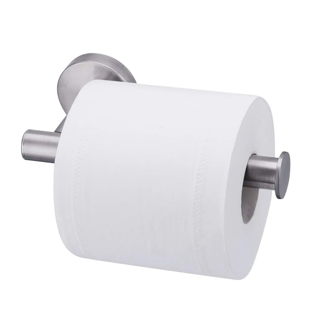 Airisoer Toilet Paper Holder Brushed Nickel Toilet Tissue Paper Roll Holder Stainless Steel Wall Mount for Bathroom