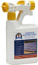 One Shot 1S-SPCHEC Solar Panel Cleaner Concentrate with Hose-End Mixing Sprayer, 32 oz (1 Quart)