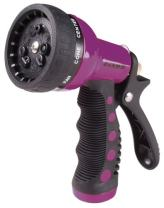 Dramm 12706  9-Pattern Revolver Spray Nozzle, Berry